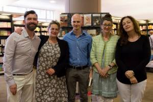 Me, Deb Levy, SJ Naude, Marina Warner, Cathy Galvin