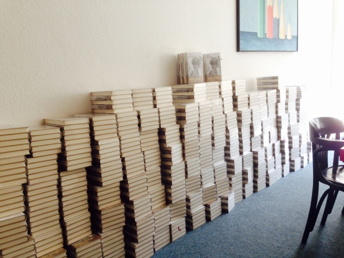 German Books Arrive